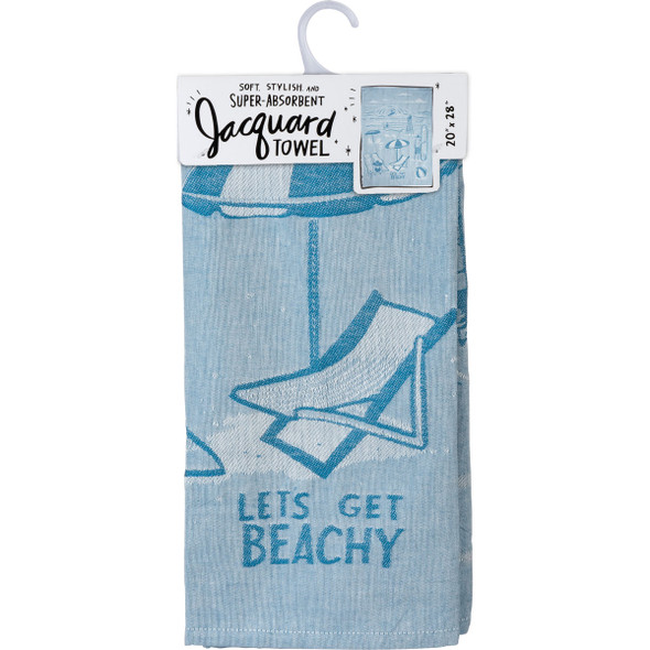 Let's Get Beachy Dish Towel