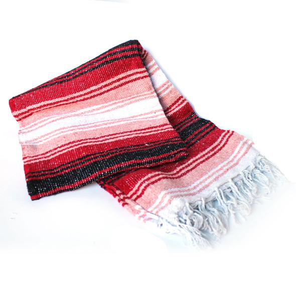 Red & Pink Valentine's Blanket