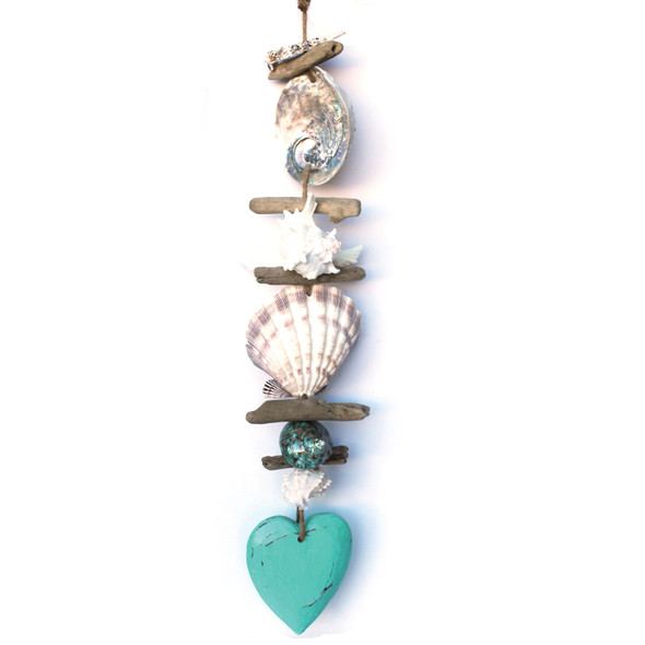 Nautical Heart & Seashell Strand