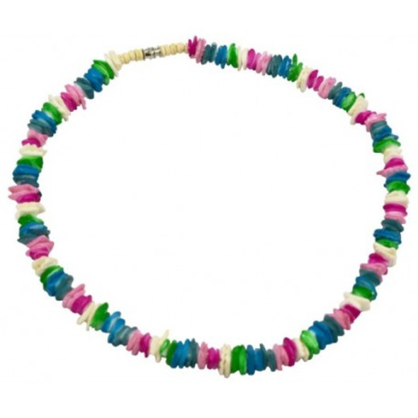 Soft Rainbow Shell Necklace
