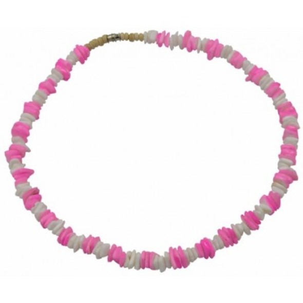 Light Pink Clam Shell Necklace