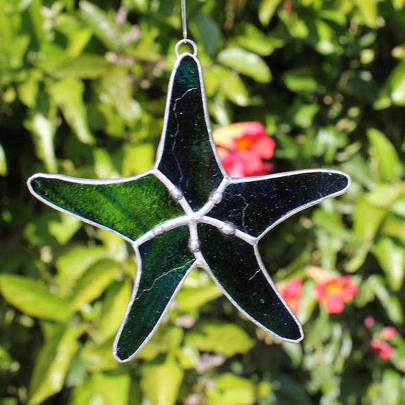 Starfish Stained Glass