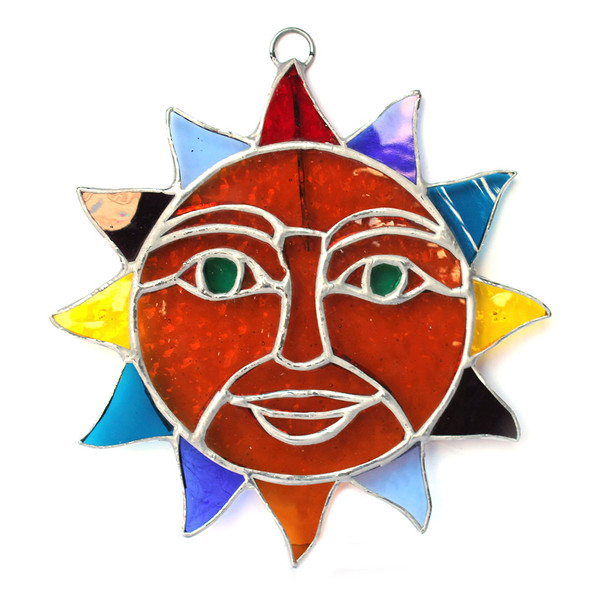 """7"""" Sun Stained Glass"""