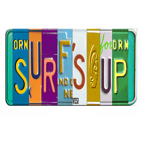 Surf's Up License Plate