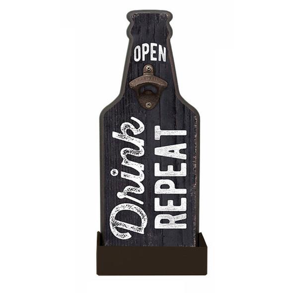 Drink Repeat Bottle Opener