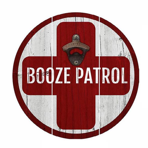 Booze Patrol Bottle Opener