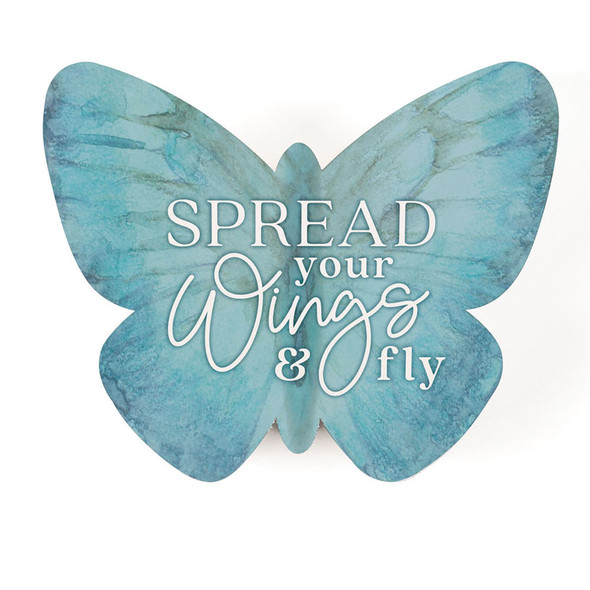 Spread Your Wings Butterfly Sign