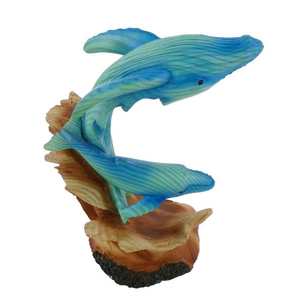 Whale Duo Figurine
