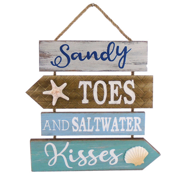 Sandy Toes and Saltwater Kisses