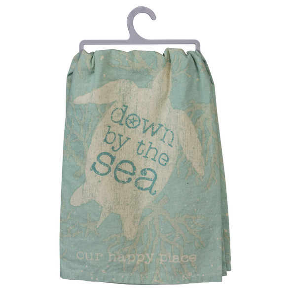 Down by the Sea Sea Turtle Towel