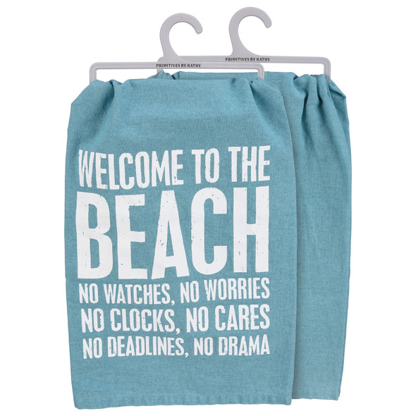 Welcome to the Beach Towel