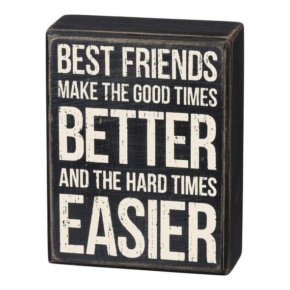 Best Friends Box Sign