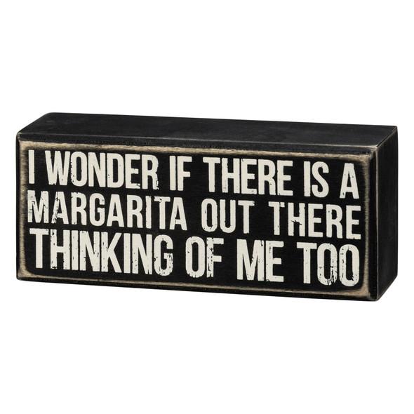 Margarita Thinking of Me Sign