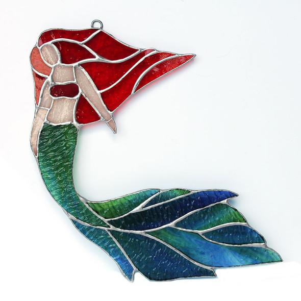 Flowing Red Hair Mermaid