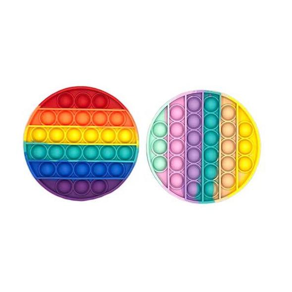 Round Rainbow Popper