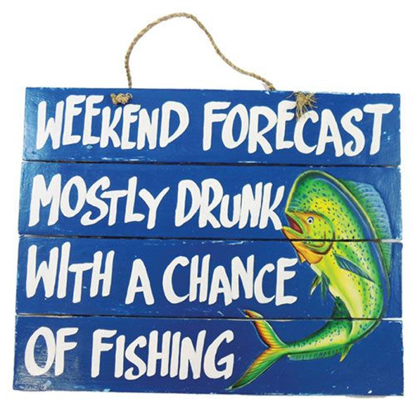 Mostly Drunk with a Chance of Fishing