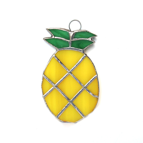 Pineapple Stained Glass
