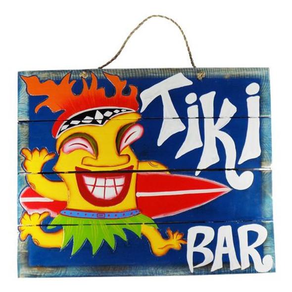 Tiki Bar Tiki Guy Sign