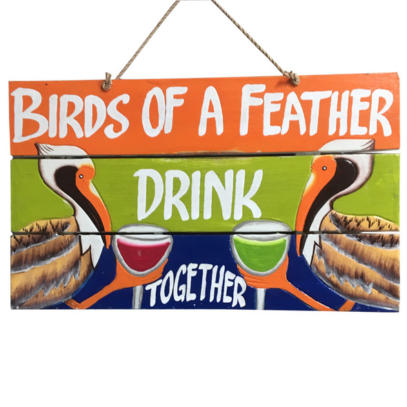 Birds of a Feather Drink Together