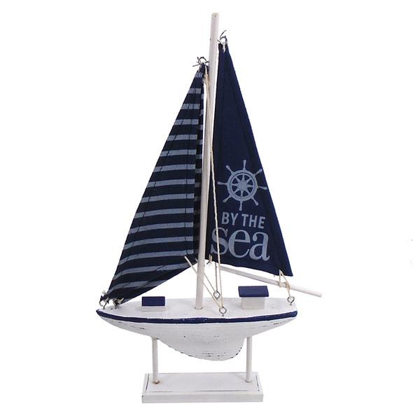 Navy By the Sea Sailboat