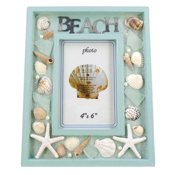 Beach Seashell Frame