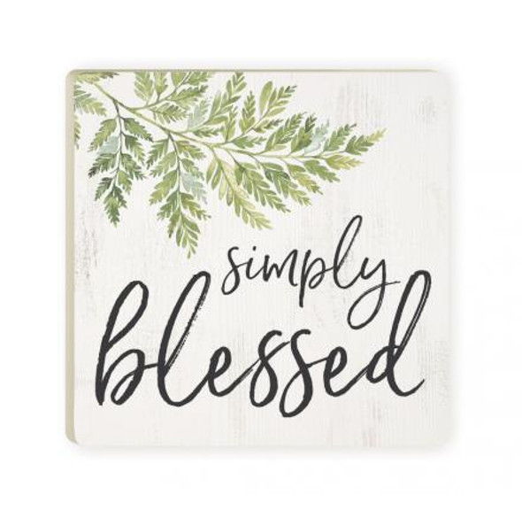 Simply Blessed Coaster