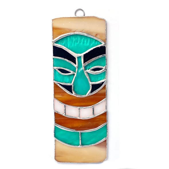 Aqua Tiki Mask