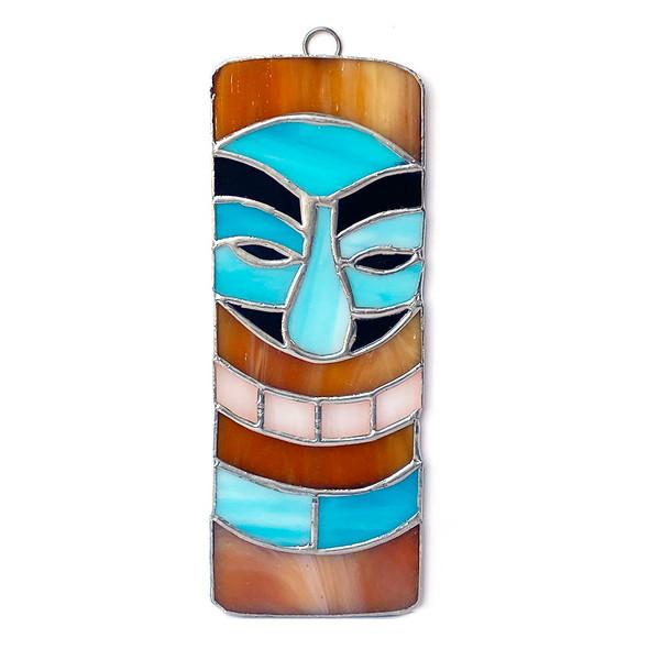 Blue Tiki Mask