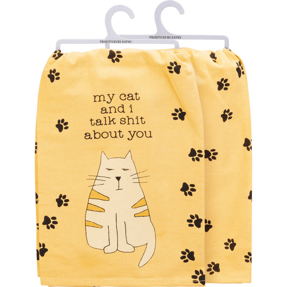 My Cat and I Towel