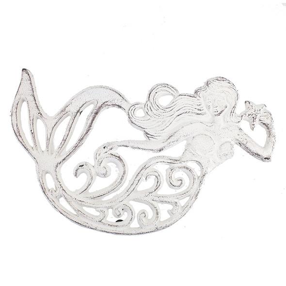 Iron Mermaid Trivet