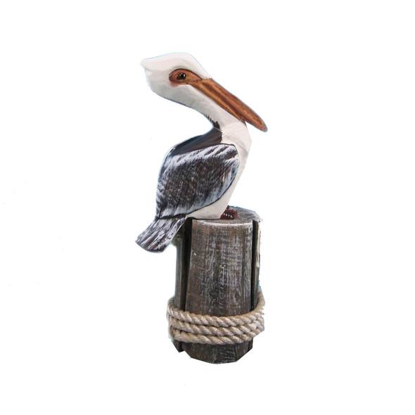 Pelican on Pilings