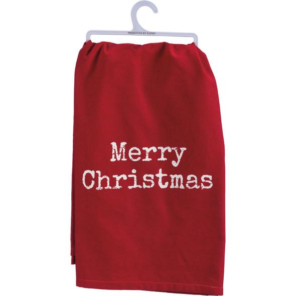 Merry Christmas Towel
