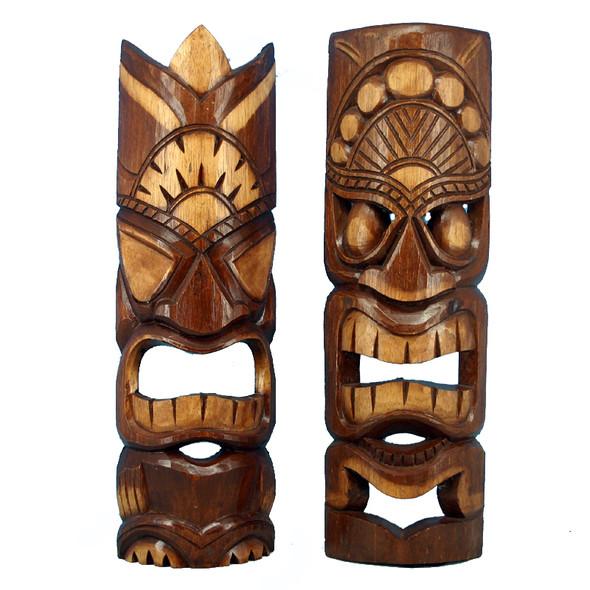 Natural Tiki Masks
