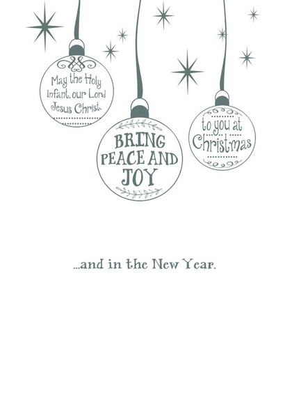 Peace and Joy to You at Christmas