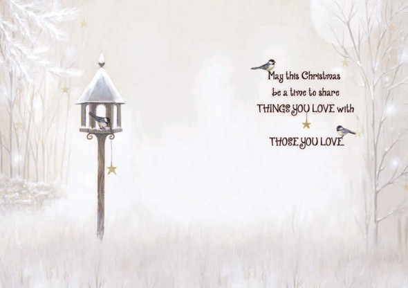 May this Christmas be a time to share the things you love with those you love.