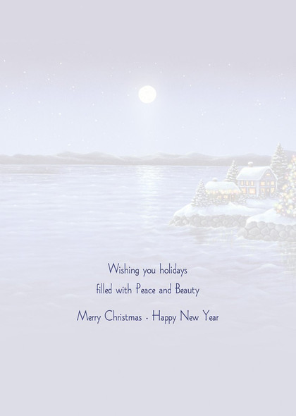Wishing you holidays filled with peace and beauty.