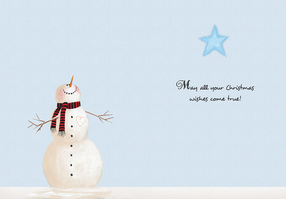 May all your Christmas wishes come true.