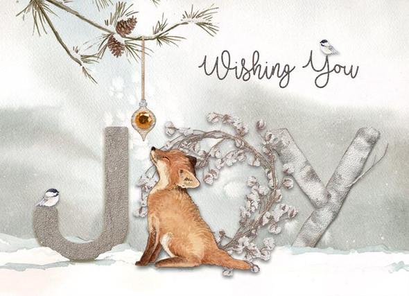 Wishing You Joy Fox