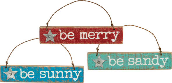 Be Merry, Be Sandy, Be Sunny