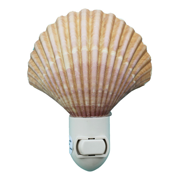 Yellow Cup Shell Night Light