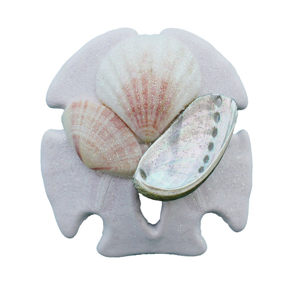 Sand Dollar Collage Magnet