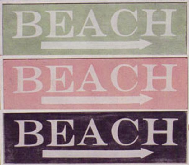 Beach Arrow Signs (Set of 3)