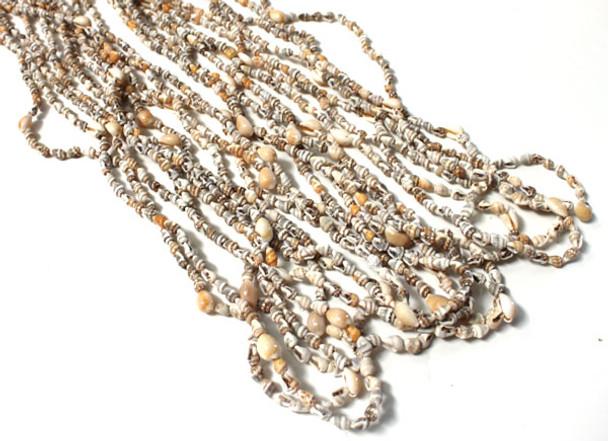 1 Dozen Nassa Shell Lei Necklaces