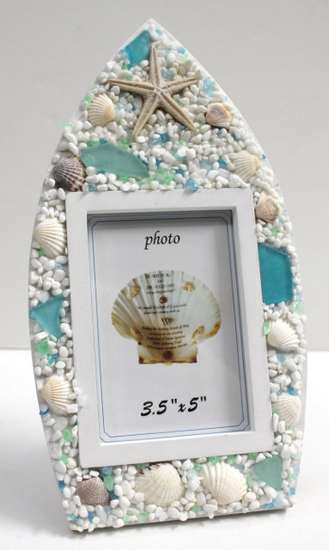 Sea Glass Boat Frame