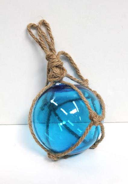 """Light Blue Glass Float 3"""""""