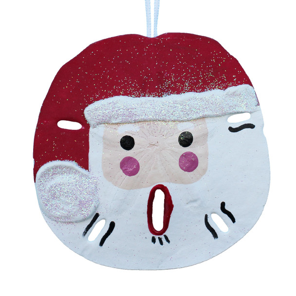 Santa Sand Dollar Ornament