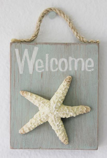 Starfish Welcome Sign