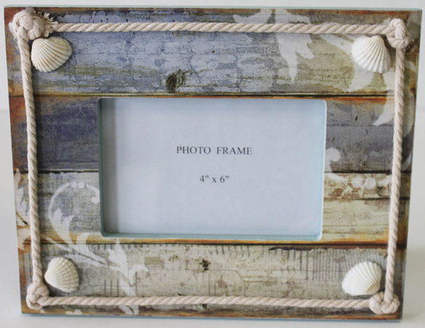Coastal Wood Picture Frame