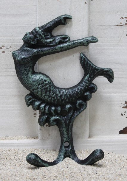 Green Iron Mermaid Hook