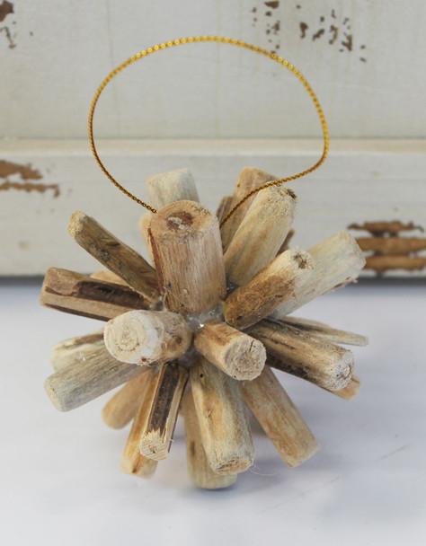 Driftwood Christmas Ornament